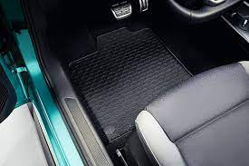 Alfombrillas de goma o tela para el Volkswagen ID3