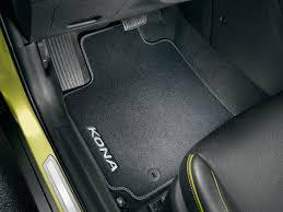 Alfombrillas de goma o tela para Hyundai Kona