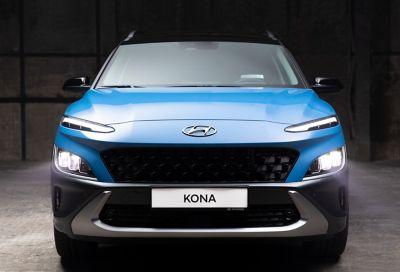 Guía de luces led para el Hyundai Kona