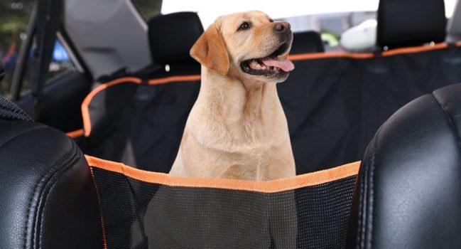 Protectores de asientos para mascotas para el Tesla Model X