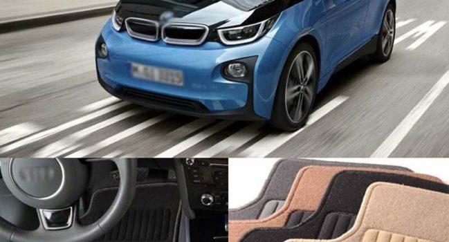 Alfombrillas de goma o tela para el BMW i3
