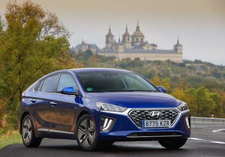 Guía de luces led para el Hyundai Ioniq