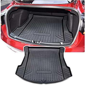 Protector de goma para el maletero del Tesla Model 3